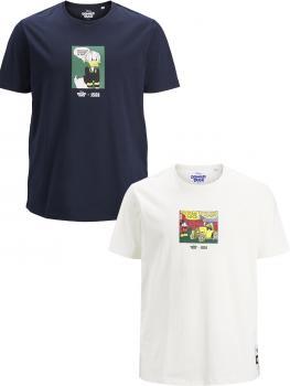 JACK & JONES - Übergröße / PlusSize - Herren T-Shirt - Größen 2XL bis 4XL - JORDONALDDUCK