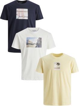 JACK & JONES - Übergröße / PlusSize - Herren T-Shirt - 3XL bis 6XL - JORDYLANT