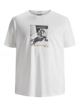 JACK & JONES - Übergröße / PlusSize - Herren T-Shirt - 3XL bis 6XL - JORGILBERT
