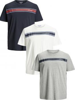 JACK & JONES - Übergröße / PlusSize - Herren T-Shirt - Größen 3XL - 8XL - JORSHIPLEY