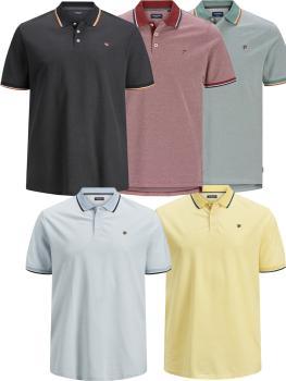 JACK & JONES - Übergröße / PlusSize - Herren Polo Shirt - JPRWIN
