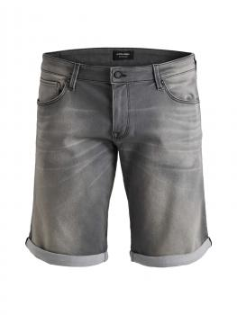 "JACK & JONES - in Übergröße / PlusSize - Herren Jeans-Shorts - in ""grey denim"" JJIRICK JJICON - GE848"